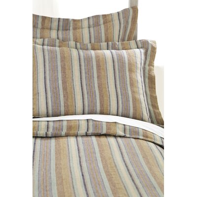 Treehouse Linen Duvet Cover Size: Twin