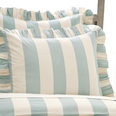 Madeline Stripe Sham Size: Standard