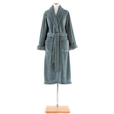 Sheepy Fleece Bathrobe Size: One Size, Color: Juniper