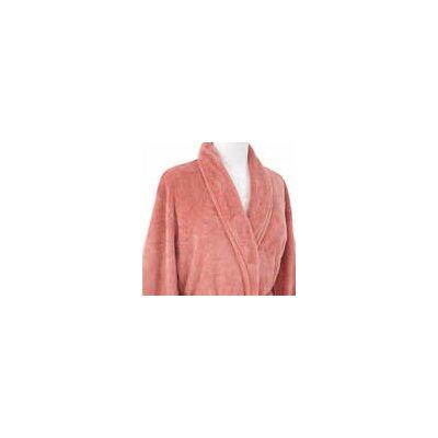 Sheepy Fleece Bathrobe Size: Petite, Color: Coral
