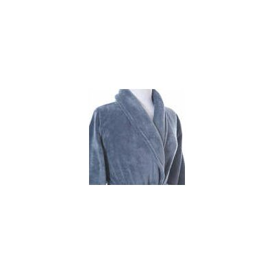 Sheepy Fleece Bathrobe Size: Petite, Color: Twilight