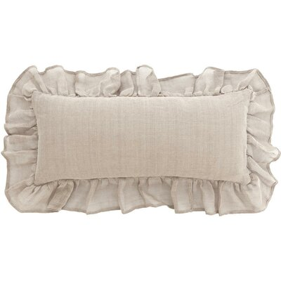 Linen Mesh Double Linen Boudoir/Breakfast Pillow