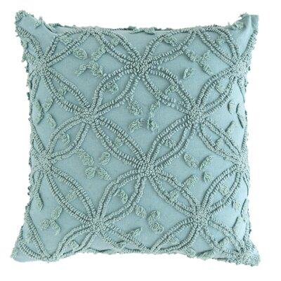 Candlewick Cotton Throw Pillow Size: 20 H x 26 W, Color: Mineral
