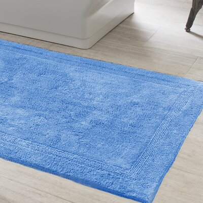Signature Bath Rug Size: 32 x 64, Color: French Blue