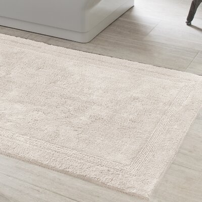 Signature Bath Rug Size: 32 x 64, Color: Ivory