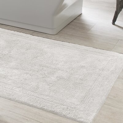 Signature Bath Rug Size: 20 x 30, Color: White