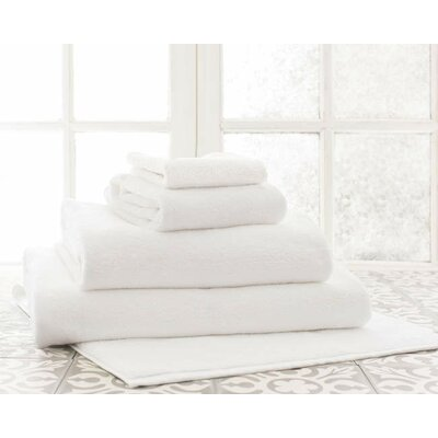 Signature Bath Mat Color: White