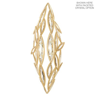 Marquise 7-Light Crystal Pendant Finish: Florentine Brushed Gold