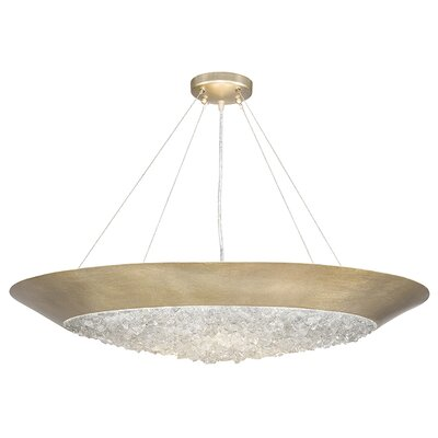 Arctic Halo 3-Light Inverted Pendant Finish: Champagne Gold