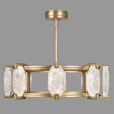 Allison Paladino 16-Light Geometric Pendant Finish: Gold