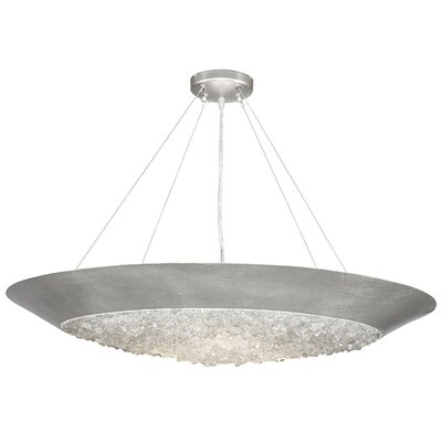 Arctic Halo 3-Light Bowl Pendant Finish: Platinized Silver