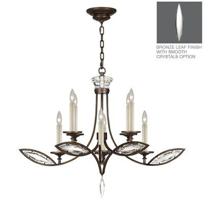Marquise 8-Light Candle-Style Chandelier Finish: Rubbed Bronze