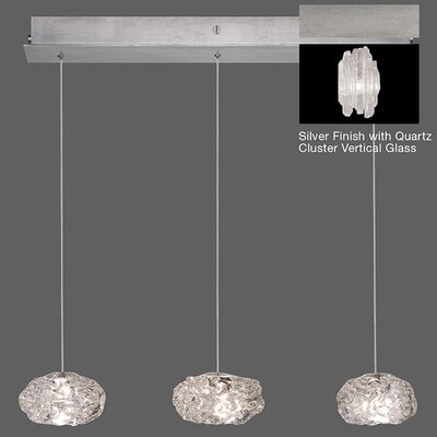 Natural Inspirations 3-Light Kitchen Island Pendant