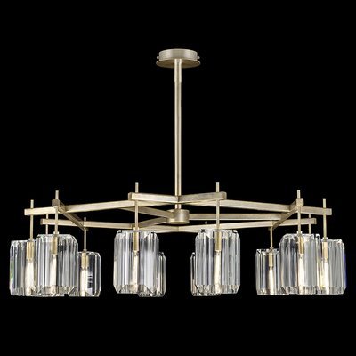 Monceau 12-Light Candle-Style Chandelier Finish: Gold