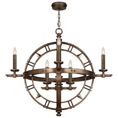 Liaison 8-Light Pendant Finish: Antique Rubbed Bronze