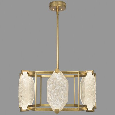 Allison Paladino 12-Light Drum Pendant Finish: Gold
