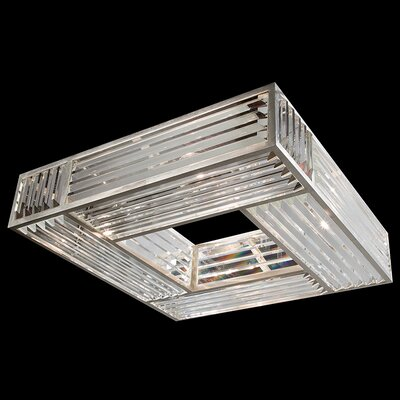 Crystal Enchantment 4-Light Semi-Flush Mount