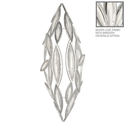 Marquise 7-Light Crystal Pendant Finish: Platinized Silver