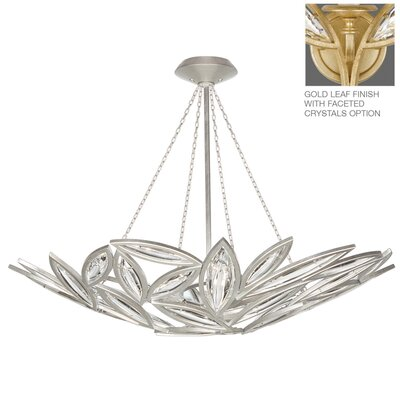 Marquise 12-Light Inverted Pendant Finish: Florentine Brushed Gold