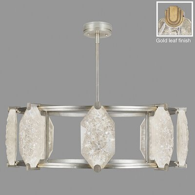 Allison Paladino 16-Light Drum Pendant Finish: Gold