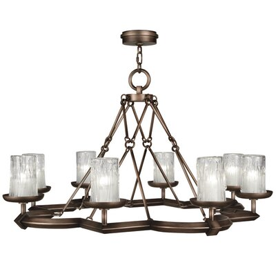 Liaison 8-Light Candle-Style Chandelier Finish: Antique Bronze