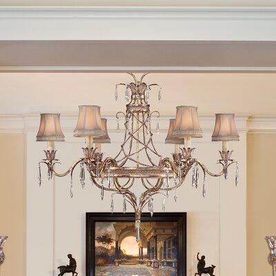 Pastiche 6-Light Candle-Style Chandelier