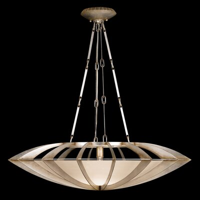 Staccato 1-Light Bowl Pendant Finish: Gold Toned Leaf