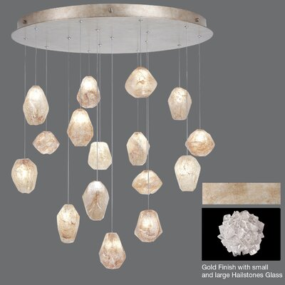 Natural Inspirations 16-Light Cascade Pendant