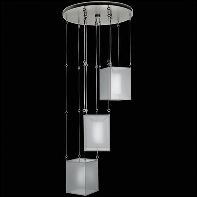 Quadralli 3-Light Cluster Pendant