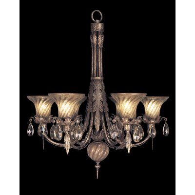 A Midsummer Nights Dream 6-Light Shaded Chandelier