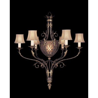 Villa 1919 6-Light Shaded Chandelier
