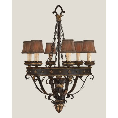 Castile 6-Light Shaded Chandelier