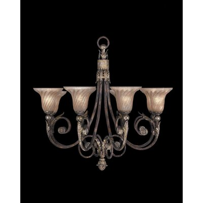 Stile Bellagio 8-Light Shaded Chandelier
