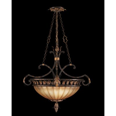 Brighton Pavillion 3-Light Bowl Pendant