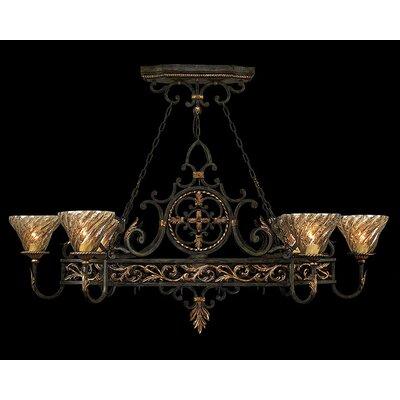 Epicurean 6-Light Candle-Style Chandelier