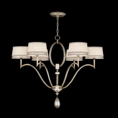 Allegretto 6-Light Drum Chandelier Finish: Silver