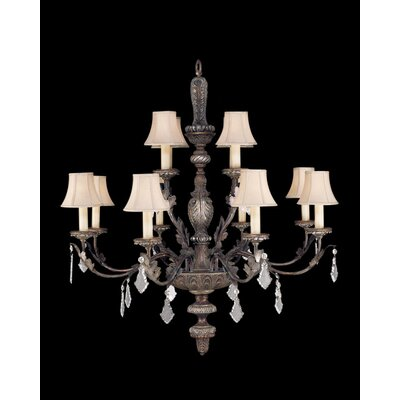 Stile Bellagio 12-Light Candle-Style Chandelier