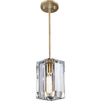 Monceau 1-Light Mini Pendant Finish: Gold