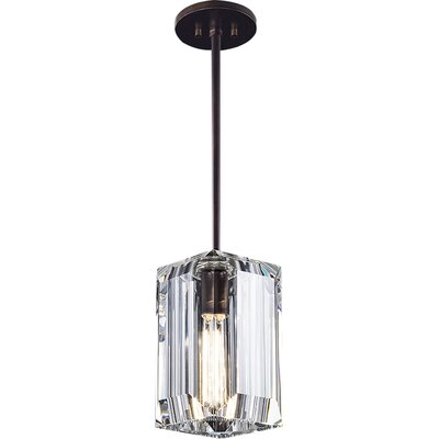 Monceau 1-Light Mini Pendant Finish: Patinated Bronze