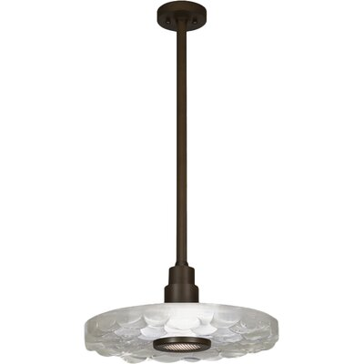Crystal Bakehouse 1-Light Mini Pendant Finish: Bronze