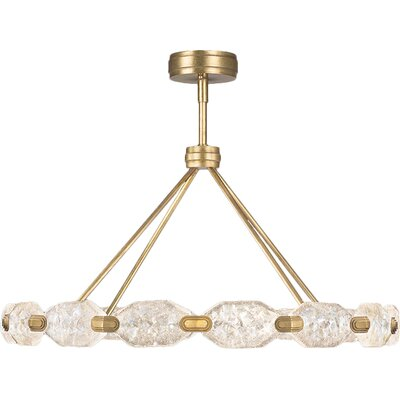 Allison Paladino Geometric Pendant Finish: Gold