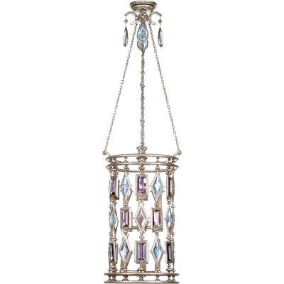 Encased Gems 6-Light Foyer Pendant Crystal Color: Brown-Amber-Emerald-Peridot