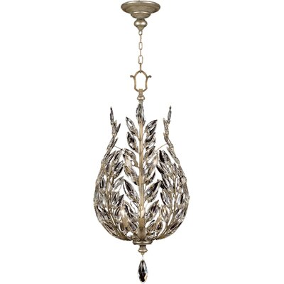 Crystal Laurel 6-Light Foyer Pendant