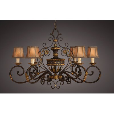 Castile 6-Light Candle-Style Chandelier