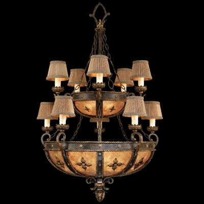 Castile 10-Light Candle-Style Chandelier