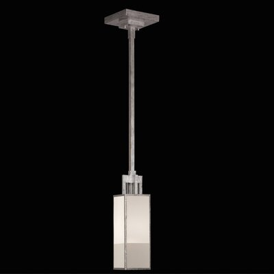 Perspectives 1-Light Mini Pendant Finish: Muted Silver Leaf