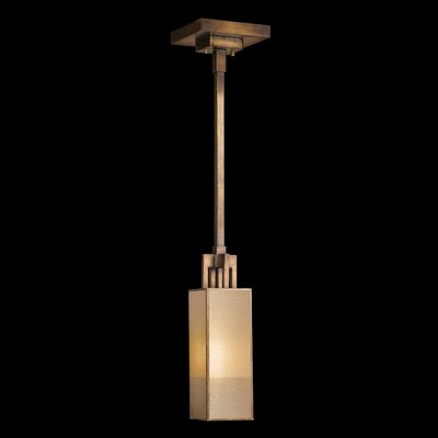 Perspectives 1-Light Mini Pendant Finish: Patinated Golden Bronze