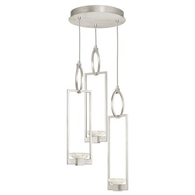 Delphi 3-Light Cluster Pendant Finish: Silver
