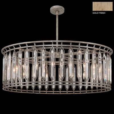 Westminster 18-Light Drum Pendant Finish: Gold