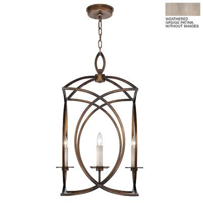 Cienfuegos 4-Light Foyer/Lantern Pendant Finish: Weathered Gray Patina